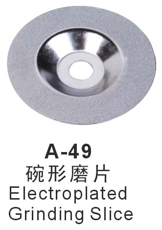 A-49 Electroplated Grinding Slice