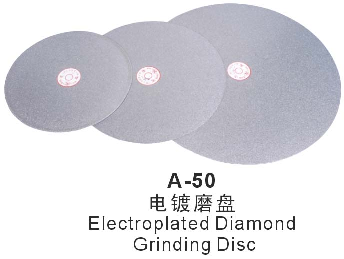 A-50 Electroplated Diamond Grinding Disc